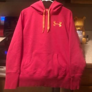 Women's Pink UA Sweatshirt Size M